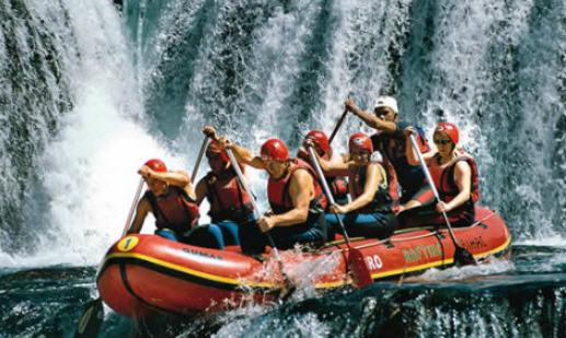 Order Rafting tours