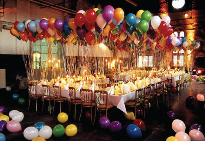Birthday event design services