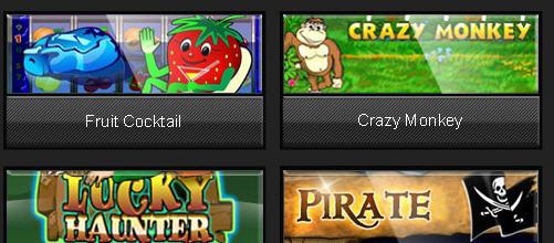 Order Online Slots
