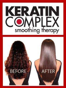 Order Keratin hair straightening