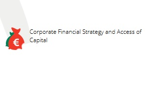 Order Corporate Financial Strategy and Access of Capital