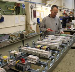 Electrical Control Panel build up