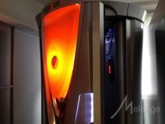Vertical solarium servises