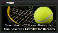 Live-betting On  Tennis