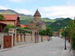 Mtskheta - The ancient capital of the Georgian kingdom . Мцхета - Древняя столица Грузинского царства