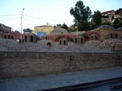 Abanotubani - quarter in the center of Tbilisi,