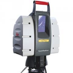 Наземное лазерное сканирование
